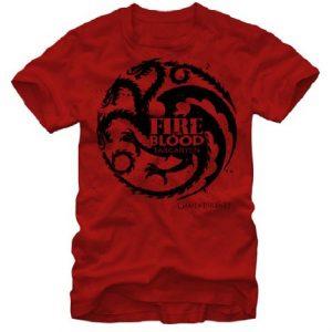 Game of Thrones Targaryen Fire and Blood Men's T-shirt