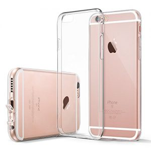 iPhone 6 Case, iPhone 6 Case Clear, ESR iPhone 6s Case Soft TPU Gel [Ultra Clear] [Slim Fit] [0.8mm Ultra Thin] Protective Skin for iPhone 6s/ iPhone 6 (Clear)