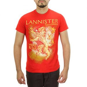 Game of Thrones Lannister Red T-shirt