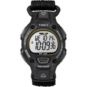 Timex Men's Ironman Classic 30 Full-Size Watch, Black Fast Wrap Strap