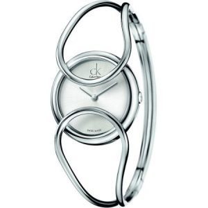 Calvin Klein ck Inclined Bangle Ladies Watch K4C2S116