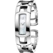 Calvin Klein ck Dress Half Bangle Ladies Watch K3Y2M11G