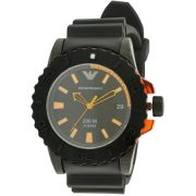 Emporio Armani Rubber Mens Watch AR5969