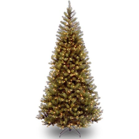 National Tree Pre-Lit 7' Aspen Spruce with 400 Clear Lights