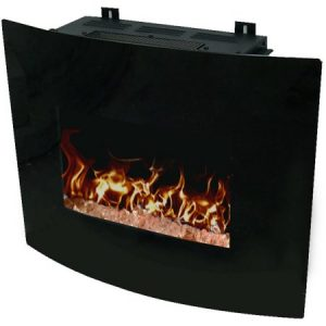 "Decor Flame 24"" Wall-Mounted Fireplace"