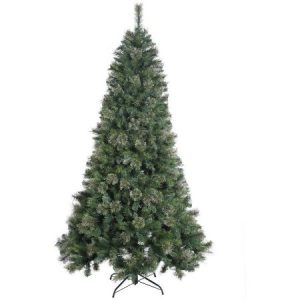 Vickerman 4.5' Unlit Butte Mixed Pine Artificial Christmas Tree with Metal Stand