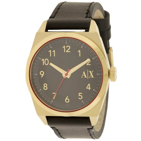 Armani Exchange Leather Ladies Watch AX2306