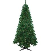 Pre-Lit 6.5' Rockport Artificial Christmas Tree, 300 Multi Lights