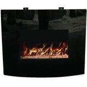 "Decor Flame 24"" Wall-Mounted Fireplace 2"