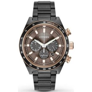 Citizen Eco-Drive Sport Chronograph Mens Watch CA4207-53H