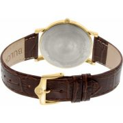 Bulova Men's 97B100 Brown Leather Quartz Dress Watch 2