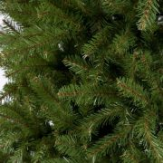 National Tree Unlit 4-1/2' Dunhill Fir Hinged Artificial Christmas Tree 1