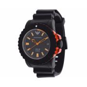 Emporio Armani Rubber Mens Watch AR5969 1