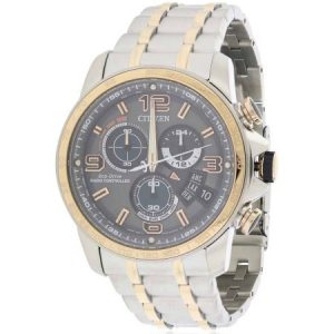 Citizen BY0106-55H 44mm  Multicolor Steel Bracelet & Case  Mineral Men's Watch