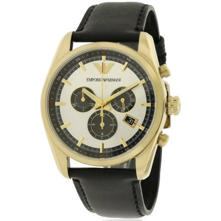 Emporio Armani Sportivo Leather Chronograph Men's Watch, AR6006