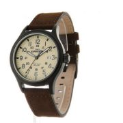 Timex Men's Expedition Scout Brown Watch, Leather Strap 1