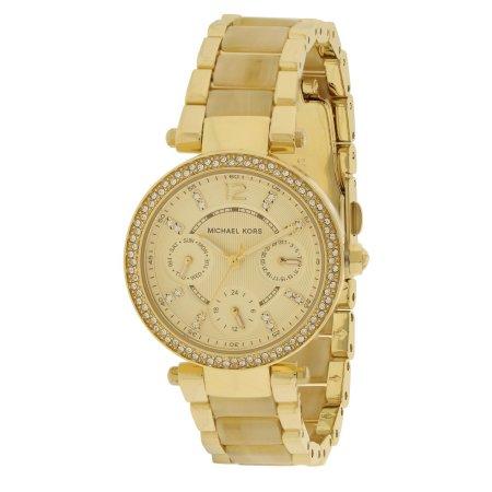 Michael Kors Mini Parker Crystal Bezel Ladies Watch MK5842