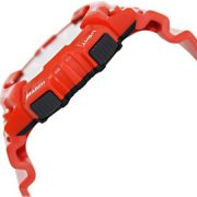 Casio Men's Solar Sport Combination Watch, Red Glossy Resin Strap 1