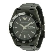 Emporio Armani Sportivo Black Ion Mens Watch AR6049