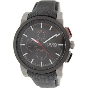 Hugo Boss Leather Mens Watch 1512979