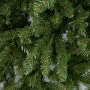 National Tree Unlit 4-1/2' Dunhill Fir Hinged Artificial Christmas Tree 2
