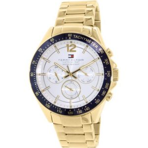 Tommy Hilfiger Men's 1791121 Gold Stainless-Steel Quartz Watch