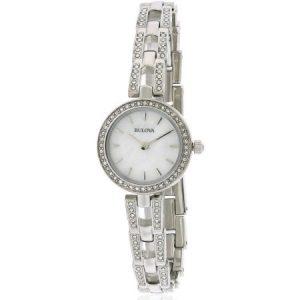 Bulova Stainless Steel Necklace Set Ladies Watch 96X130
