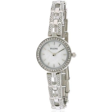 Bulova Stainless Steel Necklace Set Ladies Watch 96X130