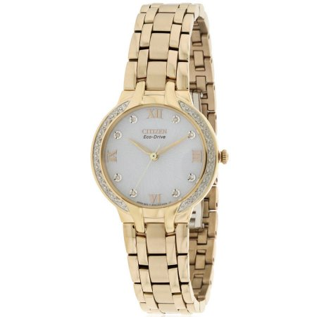 Citizen Eco-Drive Bella Crystal Stainless Steel Ladies Watch EM0123-50A