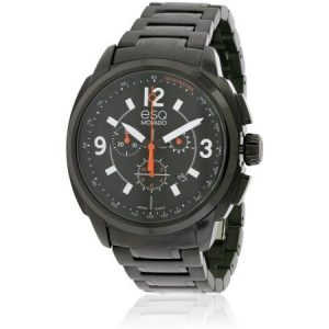 ESQ by Movado Excel Chronograph Black IP Men's Watch, 07301418