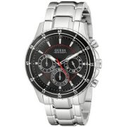 GUESS Stainless Steel Chronograph Mens Watch U0676G1