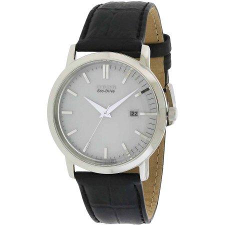 Citizen Eco-Drive Leather Men's Watch, BM7190-05A