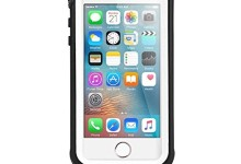 VersionTech Thin Waterproof Case for iPhone SE/5/5s – White