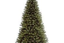 National Tree Unlit 7-1/2′ North Valley Spruce Hinged Artificial Christmas Tree