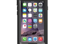 LifeProof NUUD iPhone 6 ONLY Waterproof Case (4.7″ Version) – Retail Packaging –  BLACK