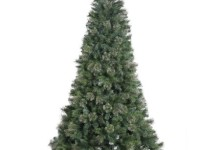 Vickerman 4.5′ Unlit Butte Mixed Pine Artificial Christmas Tree with Metal Stand 1