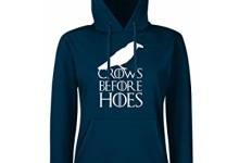 Crows Before Hoes-Game of Thrones-Hoodie-Womens Funny Hoodies-funny gifts