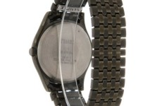 Timex Men's Woodcrest Drive Watch, Black Stainless Steel Expansion Band 2