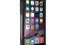 OtterBox COMMUTER iPhone 6 Plus/6s Plus Case – Frustration-Free Packaging – BLACK