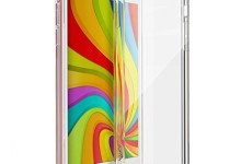 iPhone 6 Case, Enther [Ult+ Cushion] Slim Fit Scratch/Dust Proof Hybrid Transparent Clear Case with Shock Absorb Trim Bumper for Apple iPhone 6 6s- One Year Warranty