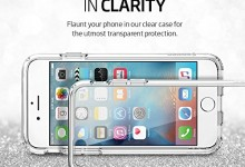 iPhone 6s Case, Spigen® [Ultra Hybrid] AIR CUSHION [Crystal Clear] Clear back panel + TPU bumper for iPhone 6 (2014) / 6s (2015) – Crystal Clear (SGP11598)