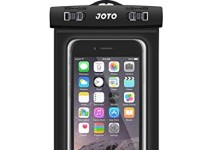 Universal Waterproof Case, JOTO CellPhone Dry Bag for Apple iPhone 6S 6,6S Plus, SE 5S 7, Samsung Galaxy S7, S6 Note 5 4, HTC LG Sony Nokia Motorola up to 6.0″ diagonal (Black)