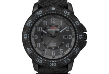 Timex Men's Expedition Gallatin Watch, Black Fast Wrap Nylon Strap