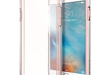 iPhone 6s Case, Spigen® [Ultra Hybrid] AIR CUSHION [Rose Crystal] Clear back panel + TPU bumper for iPhone 6 (2014) / 6s (2015) – Rose Crystal (SGP11722)