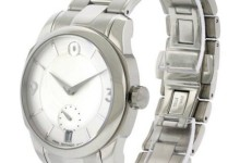 Movado LX Stainless Steel Men's Watch, 0606627 3
