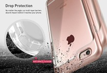 iPhone 6S Plus Case, Caseology® [Skyfall Series] Scratch-Resistant Clear Back Cover [Rose Gold] [Shock Absorbent] for Apple iPhone 6S Plus (2015) & iPhone 6 Plus (2014) – Rose Gold