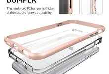 iPhone 6s Case, Spigen® [Neo Hybrid EX] PREMIUM BUMPER [Rose Gold] Clear TPU / PC Frame Slim Dual Layer Premium Case for iPhone 6 (2014) / 6s (2015) – Rose Gold (SGP11725)