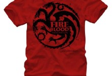 Game of Thrones Targaryen Fire and Blood Men's T-shirt S