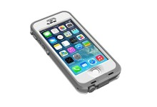LifeProof NÜÜD SERIES Waterproof Case for iPhone 5/5s/SE – Retail Packaging – WHITE (WHITE/CLEAR)