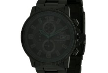 Citizen Eco-Drive NightHawk Chronograph Mens Watch CA0295-58E
